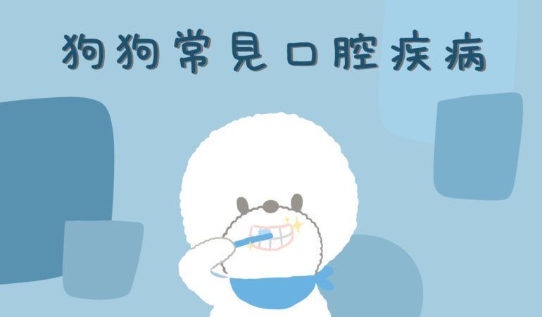 狗狗常見口腔疾病